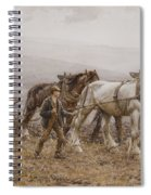 The Ploughman Wilmington Polegate Near Eastbourne Spiral Notebook