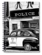 The Police Car Spiral Notebook