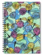 The Pond - An Aerial View Spiral Notebook