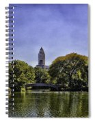 The Pond - Central Park Spiral Notebook