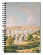 The Pont Du Gard, Nimes Spiral Notebook