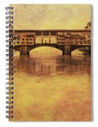 The Ponte Vecchio In Florence Italy Spiral Notebook