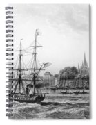 The Port Of New Orleans Spiral Notebook