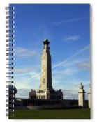 The Portsmouth Naval Memorial Southsea Spiral Notebook