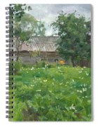 The Potato In Blossom Spiral Notebook