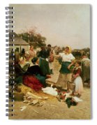 The Poultry Market Spiral Notebook