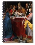 The Presentation In The Temple Spiral Notebook