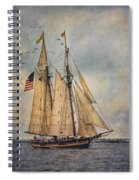 The Pride Of Baltimore II Spiral Notebook