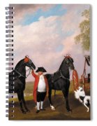 The Prince Of Wales Phaeton Spiral Notebook
