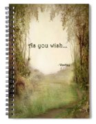 The Princess Bride - As You Wish Spiral Notebook