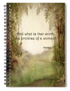 The Princess Bride - Promise Of A Woman Spiral Notebook