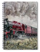 The Princess Elizabeth Storms North In All Weathers Spiral Notebook