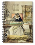 The Prior, From Sketches Of Spain Spiral Notebook