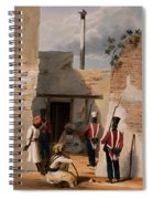 The Prison Of Hadjee Khan Kakus - Spiral Notebook