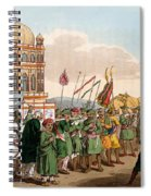 The Procession Of The Taziya, From The Spiral Notebook