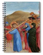 The Procession To Calvary Spiral Notebook