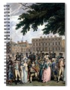 The Promenade In St James Park, C.1796 Spiral Notebook