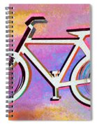 The Psychedelic Bicycle Spiral Notebook