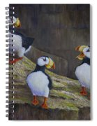 The Puffin Report Spiral Notebook