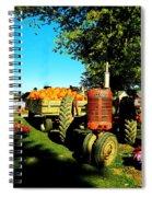 The Pumpkins Have Arrived Spiral Notebook