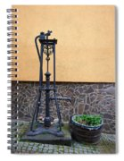 The Pump At St Goar Am Rhein Spiral Notebook