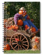 The Pumpkin Farmer Spiral Notebook