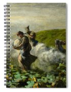 The Pumpkin Harvest Spiral Notebook