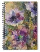 The Purple Bouquet Spiral Notebook