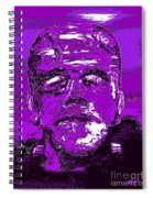 The Purple Monster Spiral Notebook