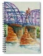 The Purple People Bridge Spiral Notebook