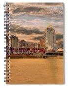 The Queen City Cincinnati Spiral Notebook