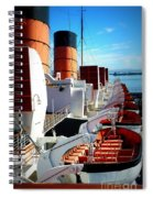 The Queen Mary  Spiral Notebook