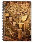 The Queen's Garden Spiral Notebook