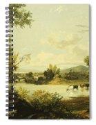 The Quiet Valley Spiral Notebook