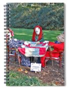 The Quilting Bee Scarecrows Spiral Notebook
