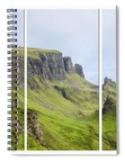 The Quiraing Triptych Spiral Notebook