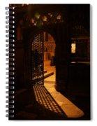 The Quire Lies Beyond Spiral Notebook
