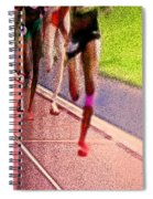 The Race By Jrr Spiral Notebook
