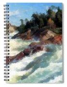 The Raging Rapids Spiral Notebook