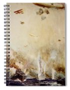 The Raid On Cuxhaven Spiral Notebook
