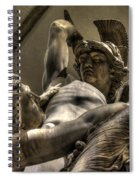 The Rape Of Polyxena Spiral Notebook