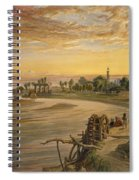The Ravee River, From India Ancient Spiral Notebook