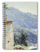The Ravello Coastline Spiral Notebook