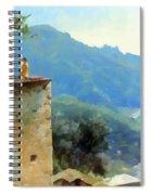 The Ravello Coastline Spiral Notebook