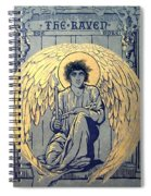 The Raven By Edgar Allan Poe Book Cover Spiral Notebook