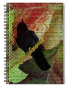 The Raven By Edgar Allan Poe  Spiral Notebook