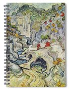 The Ravine Of The Peyroulets Spiral Notebook