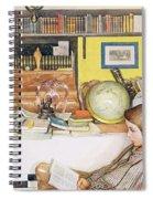 The Reading Room, Pub. In Lasst Licht Spiral Notebook