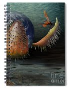 The Rebirth Of The Earth Spiral Notebook