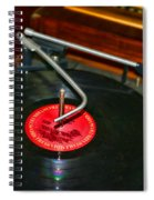 The Record Player Spiral Notebook